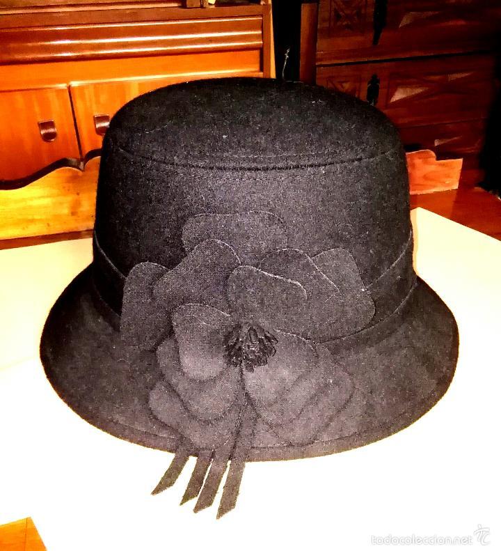 Segunda Mano  Sombrero negro c6f16052cb6f
