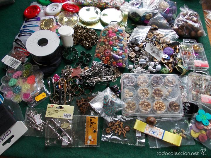 Gran lote para hacer manualidades de collares y comprar - Objetos de segunda mano ...