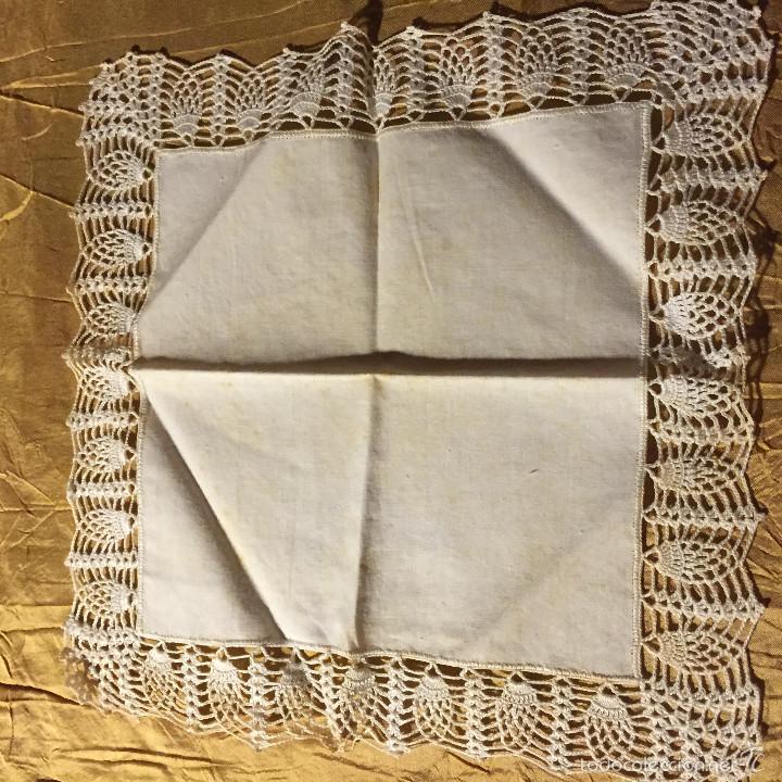 pañuelo de señora hecho a mano, puntilla de gan - Comprar ropa y ...