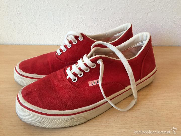 Zapatos rojos Victoria para hombre 8eA6E8LogD