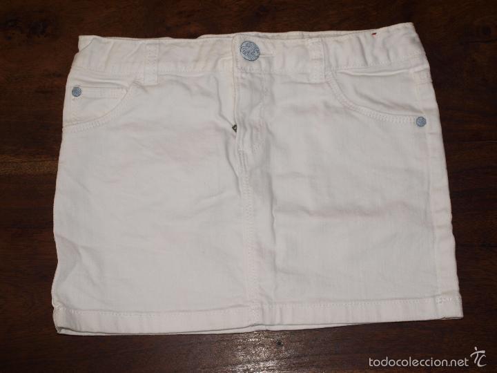 fe15d8282c65 falda vaquera blanca niña.talla 9 10 años. usad - Buy Second Hand ...