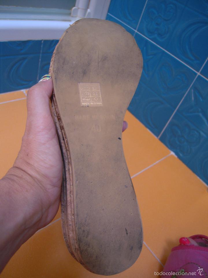Segunda Mano: Sandalias con cuña nº 40 - Foto 3 - 57418688