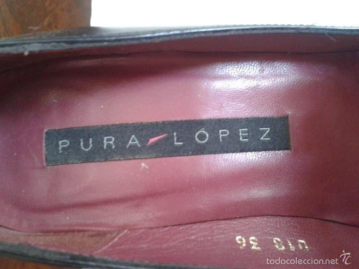 Segunda Mano: BONITOS ZAPATOS DE PURA LOPEZ. NUMERO 36. - Foto 2 - 58540769