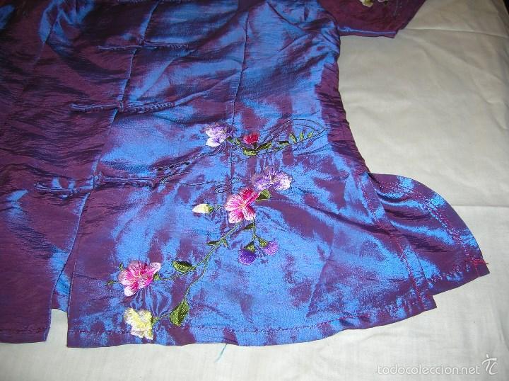 Segunda Mano: Preciosa blusa bordada a máquina ,talla X L - Foto 2 - 58624893