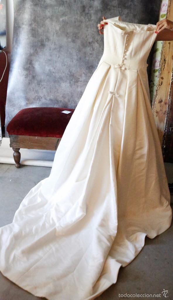 vestido de novia, pronovias, talla 34. muy buen - comprar ropa y