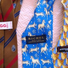 Segunda Mano - 3 corbatas de marca-caballero- - 59652259