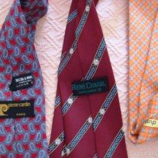 Segunda Mano - 3 corbatas de marca-caballero- - 59652627