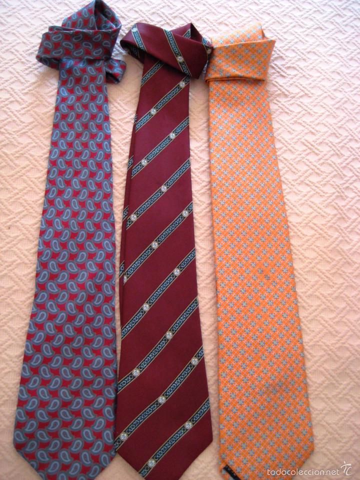 Segunda Mano: 3 corbatas de marca-caballero- - Foto 2 - 59652627