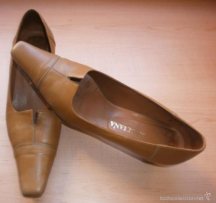 13 Zapatos Sitgetana De Hand Beige S Salón Buy Second Mostaza SMUzpGqV