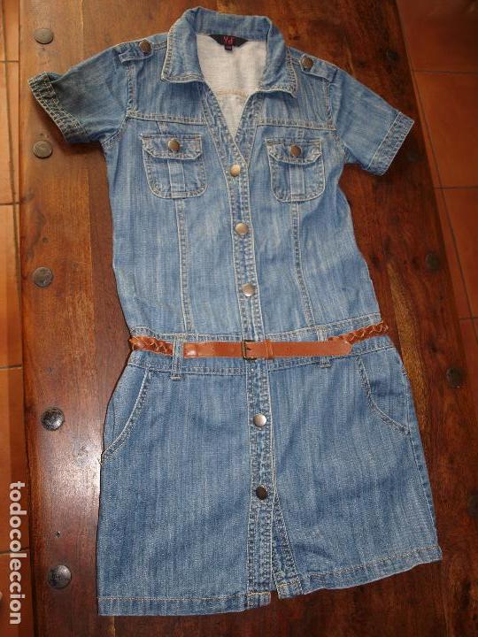 da067a50f vestido vaquero de niña con cinturon. talla 10- - Comprar ropa y ...