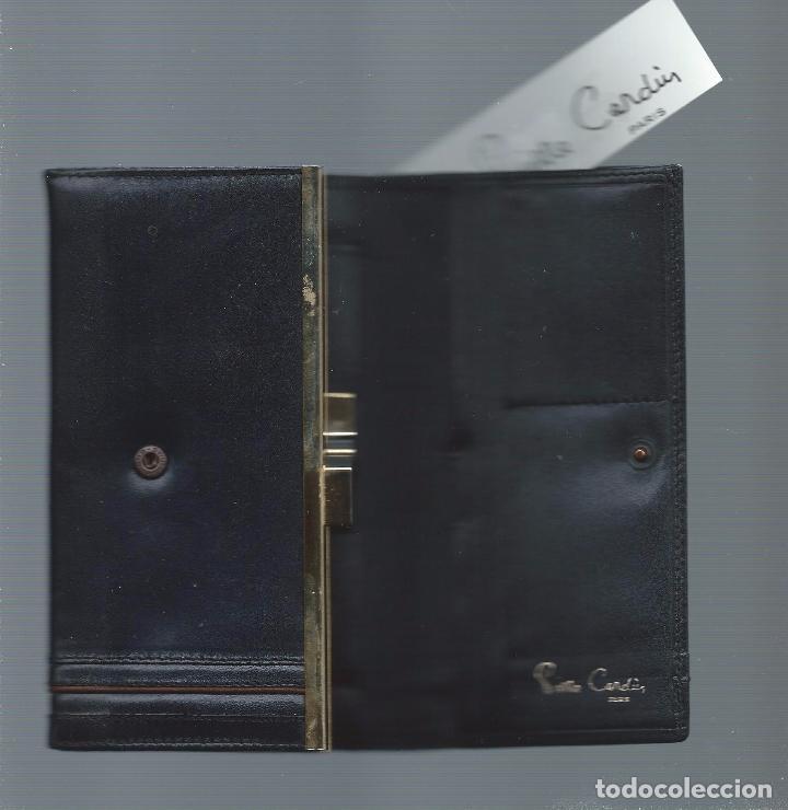 3cace4311 Segunda Mano: monedero billetero en piel para mujer, pierre cardin, parís -  Foto
