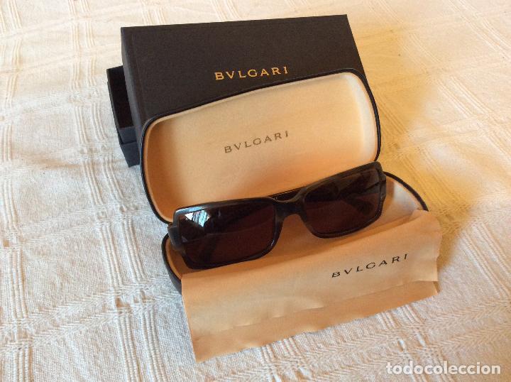 Gafas BVLGARI Genuinas y exclusivas, de pasta tonos grises y marrones segunda mano