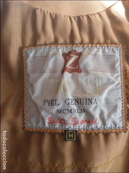 Segunda Mano: AUTÉNTICA CHAQUETA DE PIEL O CUERO PARA CABALLERO ZERIMAR COLOR CAMEL - Foto 2 - 65649842