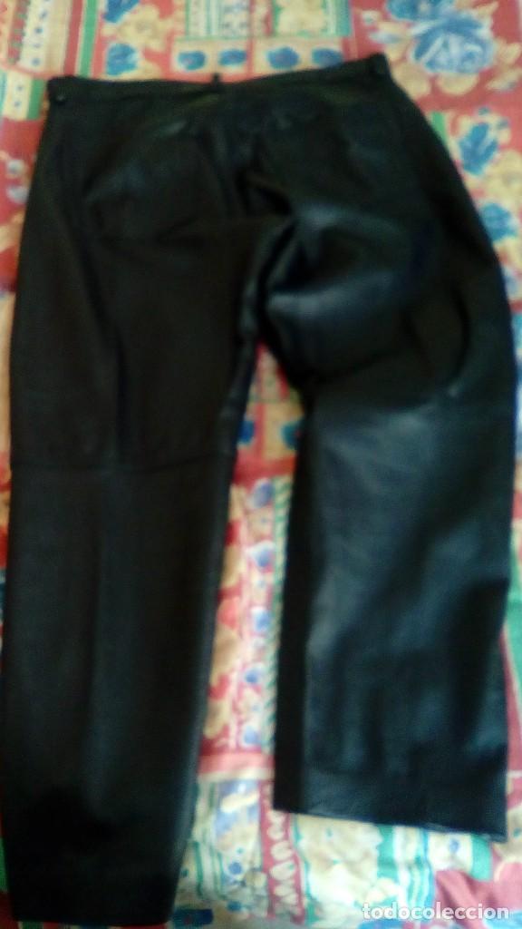 Segunda Mano: pantalon cuero unisex talla 48 original vintage - Foto 2 - 109002000