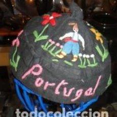 Segunda Mano: GORRO PORTUGUES BORDADO. Lote 79609525