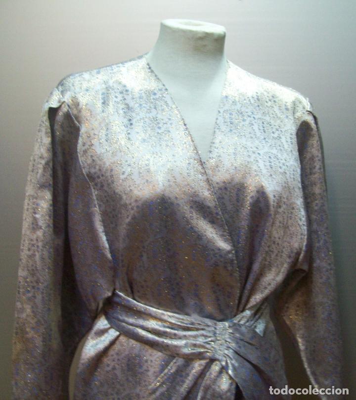 Segunda Mano: traje tres piezas lila plateado - Foto 2 - 80855463