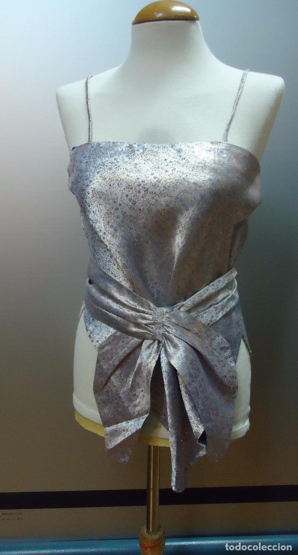 Segunda Mano: traje tres piezas lila plateado - Foto 10 - 80855463