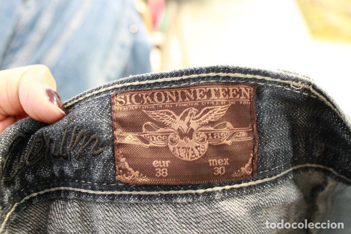 Segunda Mano: Vaqueros cortos de hombre, marca sickonineteen, talla 38. - Foto 6 - 85238432