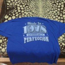 Zweite Hand - CAMISETA MANGA CORTA XXL - MADE IN 1978 - LA EDAD DE LA PERFECCION. - 86719299