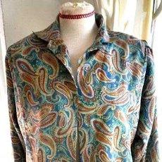 Zweite Hand - Camisa motivos fantasia para mujer manga larga talla 44-46 Alexane made in France Paris - 86733056