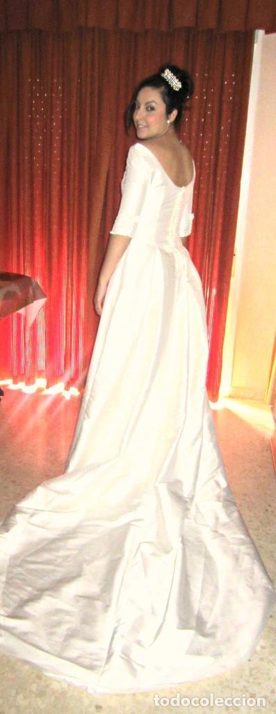 a325214c6 vestido novia. color blanco roto. gran cola. bo - Comprar ropa y ...