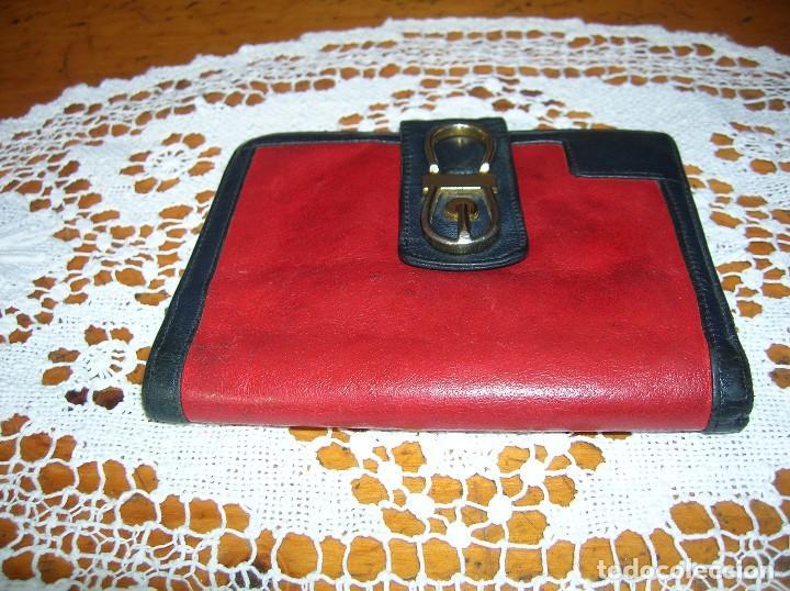 Muy Original Billetera Total Vintage En Piel C Comprar Ropa Y