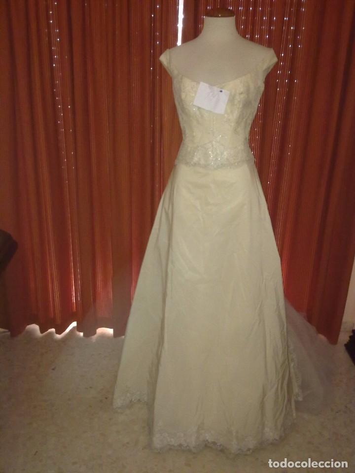 vestido de novia. vestido de encaje, color marf - comprar ropa y