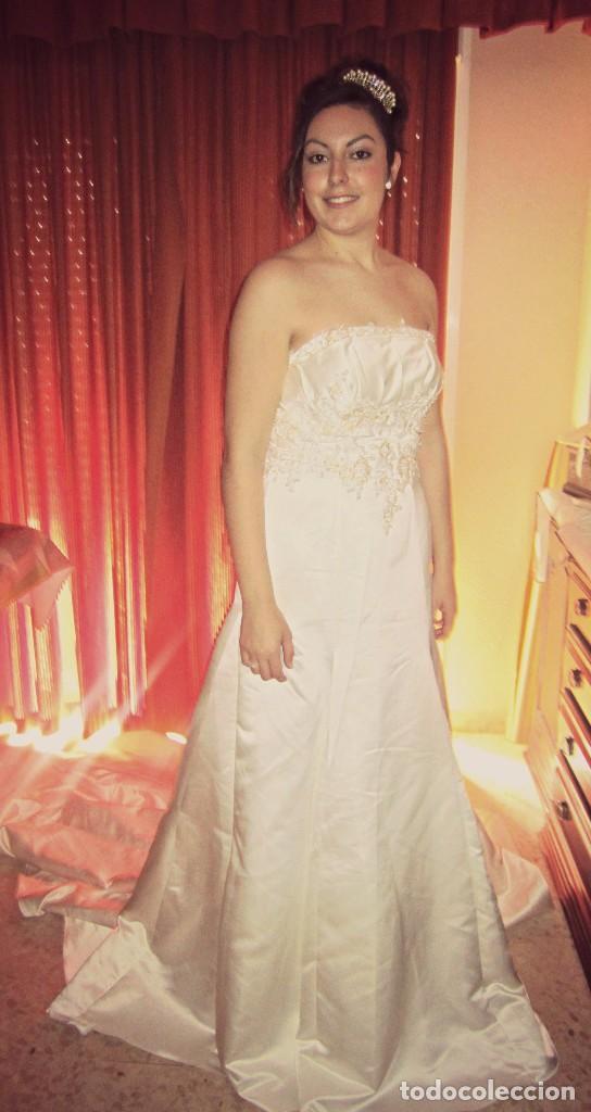 vestido de novia. blanco roto. palabra de honor - comprar ropa y