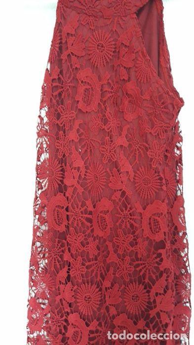 Segunda Mano: Vestido de fiesta rojo de encaje - Foto 2 - 98475211