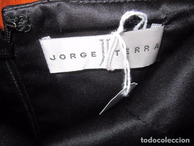 Segunda Mano: Vestido largo de fiesta, palabra de honor, de Jorge Terra. Talla 42. - Foto 3 - 104944775