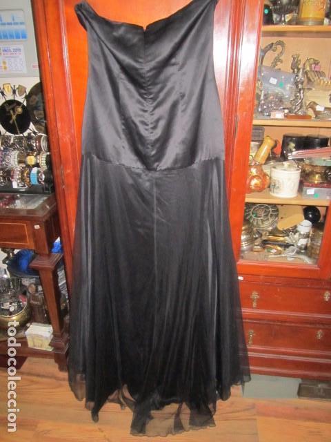 Segunda Mano: Vestido largo de fiesta, palabra de honor, de Jorge Terra. Talla 42. - Foto 7 - 104944775