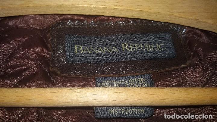 Segunda Mano: cazadora de cuero banana republic made in korea,talla M ,HOMBRE - Foto 3 - 109403435
