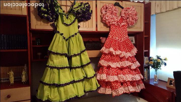 traje flamenca segunda mano