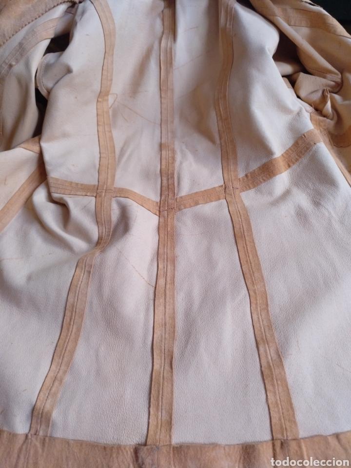 Segunda Mano: Chaqueta/sobrecamisa piel ante color naranja talla M. Mujer - Foto 6 - 114609075