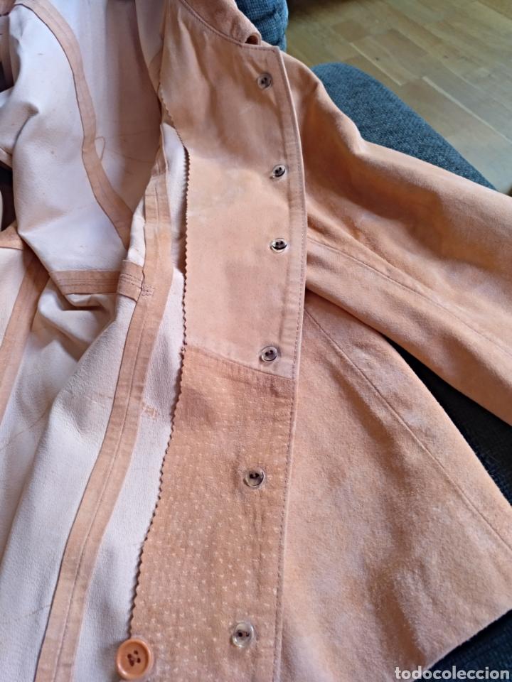 Segunda Mano: Chaqueta/sobrecamisa piel ante color naranja talla M. Mujer - Foto 7 - 114609075