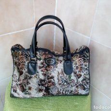 Segunda Mano: BOLSO MOUSE CONSTELLATION-ENGLAND-LARGE-TAPESTRY-HOLDALL-WEEKEND-BAG-EQUESTRIAN-FLORAL. Lote 117858415