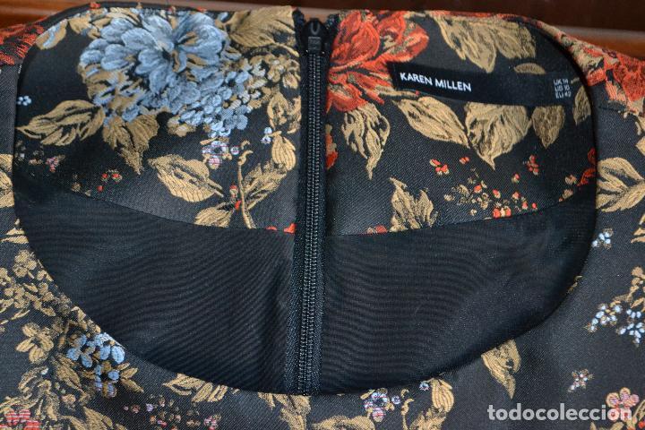 Segunda Mano: Precioso vestido acampanado de flores de la firma Karen Millen - Foto 3 - 290142968