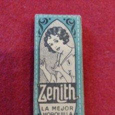 Segunda Mano: CAJITA DE HORQUILLAS DE PELO ZENITH , NUM 30.. Lote 124925306