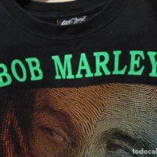 Segunda Mano: ANTIGUA CAMISETA BOB MARLEY IMPRESA DOS CARAS TALLA L. Lote 128117675
