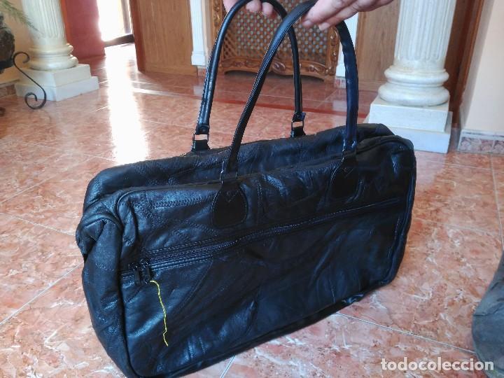 super popular f691c ae83a Bolsa de viaje de piel de El Corte Ingles