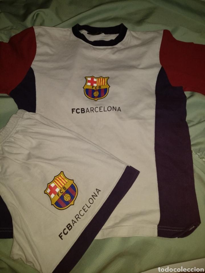 CONJUNTO CAMISETA Y PANTALÓN CORTO FC BARCELONA.2003. FCB. TALLA 12 (Segunda e1d518a0351
