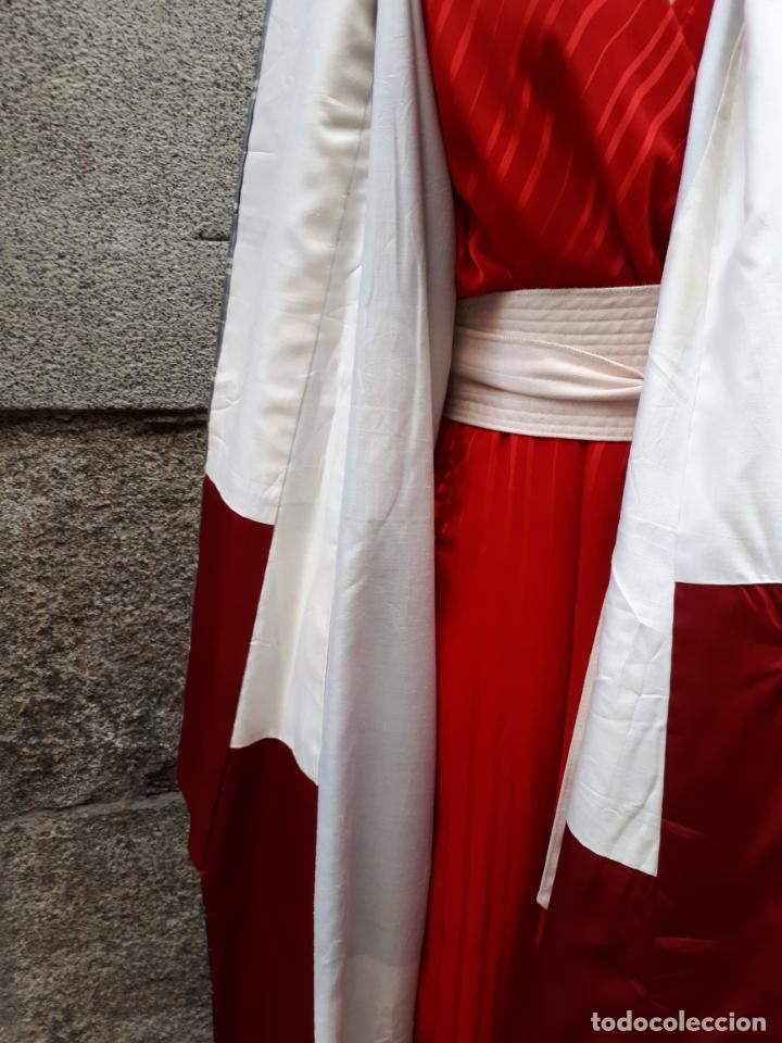 Segunda Mano: KIMONO JAPONES DE CUADROS FORRADO - Foto 4 - 130275194
