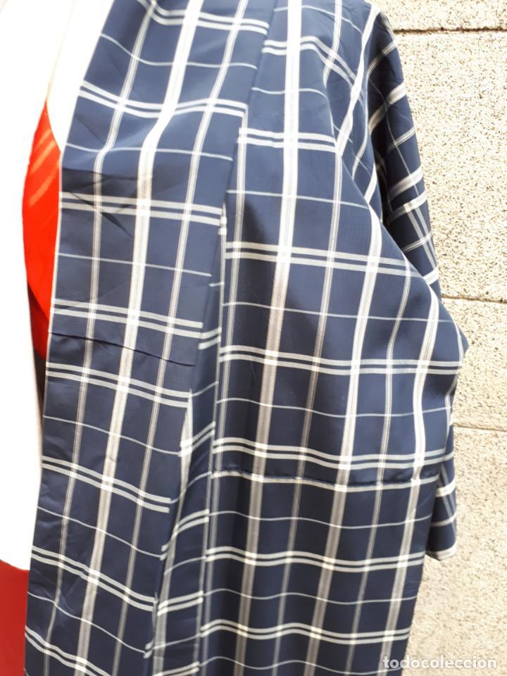 Segunda Mano: KIMONO JAPONES DE CUADROS FORRADO - Foto 6 - 130275194