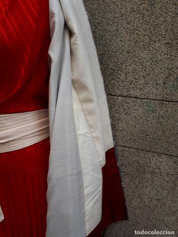 Segunda Mano: KIMONO JAPONES DE CUADROS FORRADO - Foto 7 - 130275194