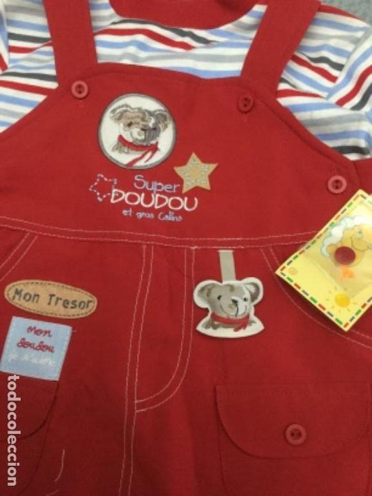 Segunda Mano: Vestido pichi y jersey de rayas a juego para niña de 12 meses - Foto 3 - 130870680