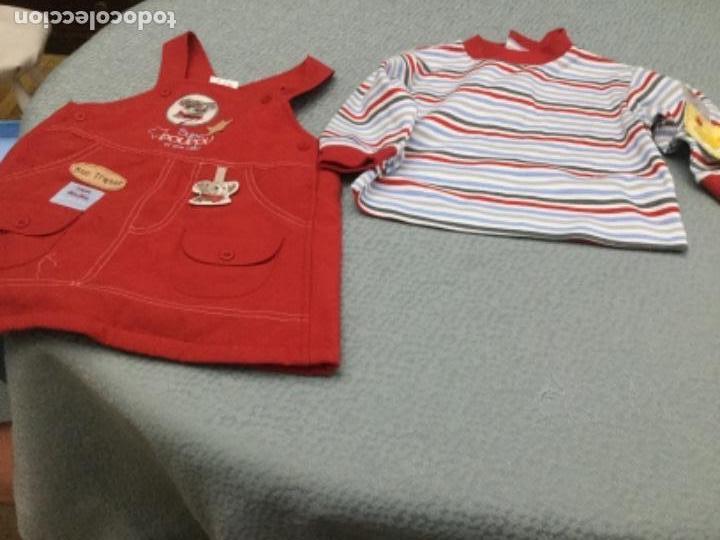Segunda Mano: Vestido pichi y jersey de rayas a juego para niña de 12 meses - Foto 4 - 130870680