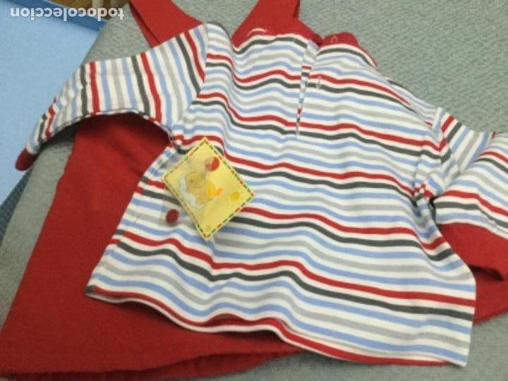Segunda Mano: Vestido pichi y jersey de rayas a juego para niña de 12 meses - Foto 6 - 130870680