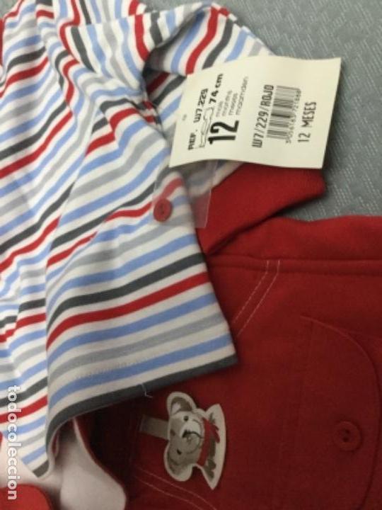 Segunda Mano: Vestido pichi y jersey de rayas a juego para niña de 12 meses - Foto 8 - 130870680