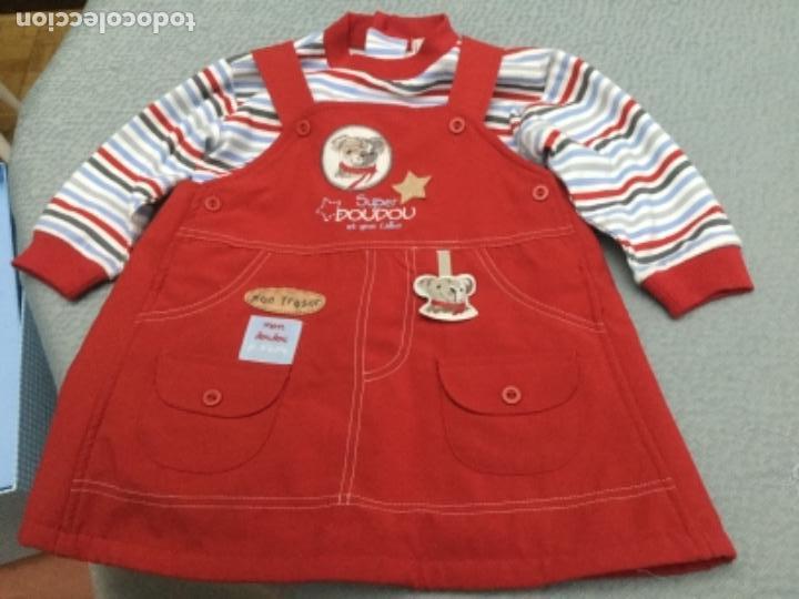 Segunda Mano: Vestido pichi y jersey de rayas a juego para niña de 12 meses - Foto 10 - 130870680
