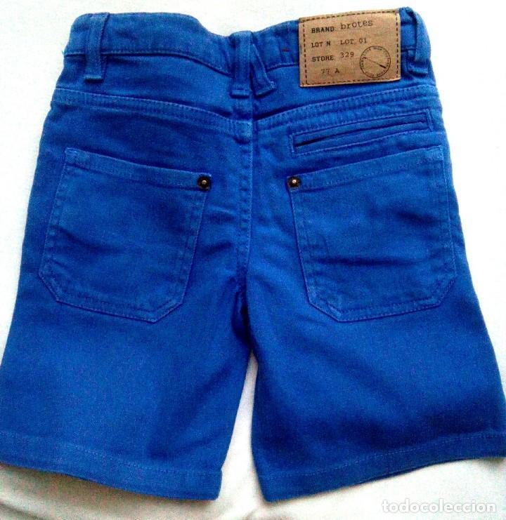 Pantal n corto ni o brotes color azul talla 3 comprar - Ropa segunda mano cordoba ...